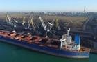 В Украину прибыло судно с африканским углем