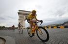 Фрум четвертий раз за п ять років виграв Тур де Франс