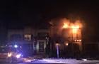В Луцке случился крупный пожар в гостинице