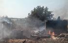 Обстрел Зайцево: штаб показал сгоревшие дома