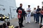 Украинские и британские моряки провели учения в Одессе