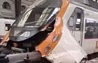 У Барселоні поїзд в їхав у платформу: 48 поранених