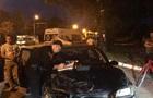 Пьяный водитель в Киеве совершил четыре ДТП