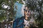 На Харьковщине нарисовали мурал с Ленноном