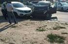 Убегая от полиции водитель устроил массовое ДТП
