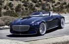 Mercedes показал 6-метровый люксовый кабриолет