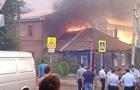 В Ростове произошел мощный пожар и взрыв газа