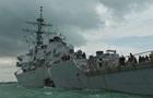 В США начали расследование по факту аварии эсминца