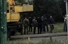 В Киеве бастуют против строительства многоэтажки