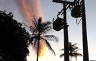 Жителей Бразилии напугала  апокалиптическая  туча
