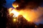 В Харькове горит админсуд, в него попала молния