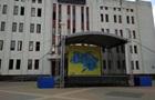 В Броварах повесили карту Украины без Крыма