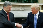 Трамп привітав Україну з Днем незалежності