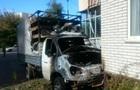 В Хмельницком  Газель  въехала в дом и загорелась