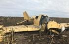 В Хмельницкой области упал самолет