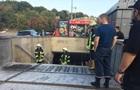 В Киеве на Крещатике загорелся подземный переход
