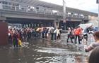 Злива затопила частину вулиць Києва