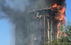 В центре Ростова сгорел десятиэтажный отель