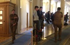Савченко прийшла в Раду у камуфляжі