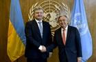 Порошенко обсудил с генсеком ООН Донбасс