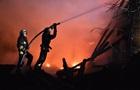 У Дніпрі згорів ресторанний комплекс