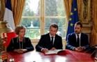 Макрон підписав трудову реформу, проти якої протестували французи