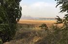 Под Мариуполем пожар на складе боеприпасов