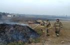 Пожар на военном складе под Мариуполем потушили
