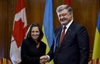 Порошенко обсудил в Канаде ввод миротворцев ООН
