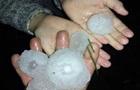 На Житомирщині через аномальний град оголосили надзвичайну ситуацію