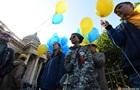 В России заблокировали проукраинскую акцию