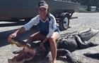 В США многодетная мать убила гигантского аллигатора