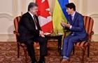 Порошенко попросив Канаду ділитися даними про РФ
