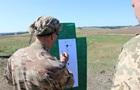 У Луганській області провели навчання снайперів