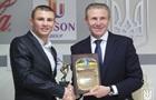 Александр Хижняк получил свою первую награду НОК Украины