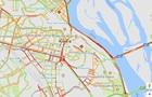 ДТП в Киеве спровоцировало огромную пробку