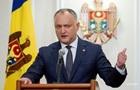 Додон требует распустить парламент Молдовы