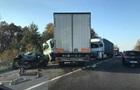 На Львовщине погиб водитель легковой машины, въехав в грузовик