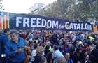 В Барселоне митингуют за независимость Каталонии