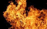 В Крыму рейсовый автобус загорелся на ходу