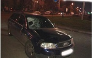 В Киеве машина сбила пешехода, оторвав ему ногу
