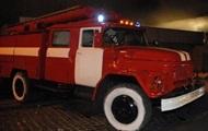 В Киеве на Оболони произошел пожар на базе отдыха