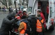Мужчина, перерезавший себе горло на Майдане, находился в розыске за кражи - милиция