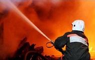 В Закарпатской области произошел пожар на лесохимическом складе