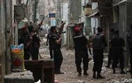 ВВС Израиля атаковали группу палестинских боевиков в секторе Газа