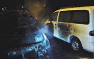 За ночь в Киеве сгорели семь автомобилей