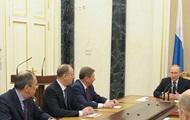 Путин обсудил ситуацию в Украине с членами Совбеза