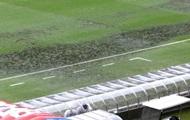 На стадионе чемпионата мира в Бразилии обрушилась часть крыши