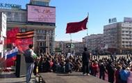 Донецкая милиция отпускает задержанных на митингах под натиском пророссийск ...