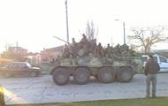 Российский спецназ ворвался на территорию батальона морской пехоты в Феодосии - СМИ